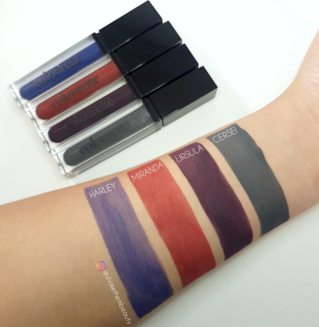 swatch and lips