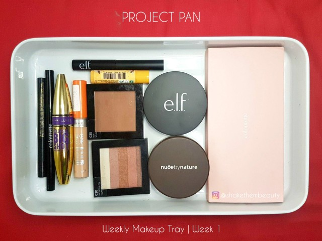 Weekly Makeup Tray_Week 1